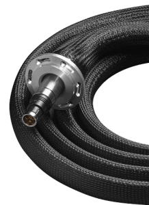 24 channel Fischer to BNC double shielded cable with twisted pairs from QDevil.